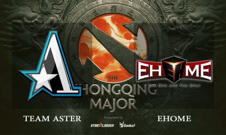 Team Aster vs EHOME game 2 – The Chongqing Major CN Qualifiers, Semifinals – Dota 2
