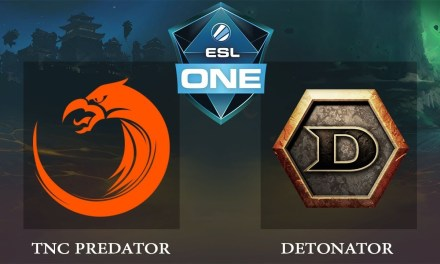TNC vs Detonator Game 3 – ESL ONE Katowice 2019, SEA Qualifiers – Dota 2