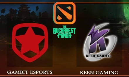 Gambit Esports vs Keen Gaming game 1 – The Bucharest Minor – Dota 2