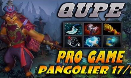 Qupe Pangolier Gameplay Compilation Dota 2