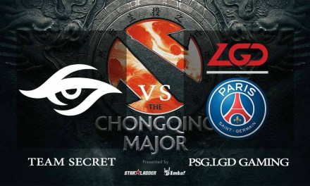 Team Secret vs PSG.LGD Game 2 – The Chongqing Major  – Dota 2