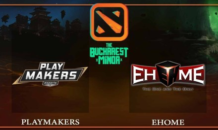Playmakers vs EHOME game 2 – The Bucharest Minor – Dota 2