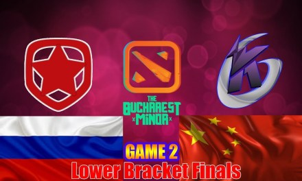 GAMBIT vs KG | Bucharest Minor Lower Bracket Finals Bo3 Game 2
