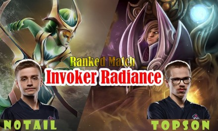Topson Invoker Radiance style vs Notail Naga – TI winner vs TI winner | Ranked match