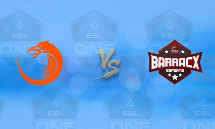 TNC vs PG.Barracx GAME 1 Bo3 | Upper Bracket R1 ESL One Katowice 2019 Qualifier