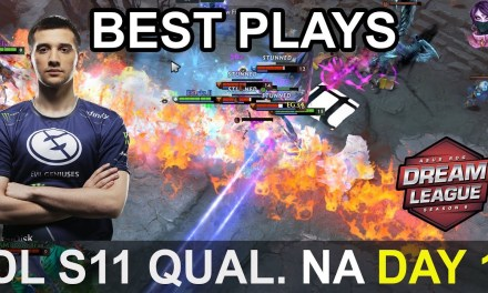 DreamLeague S11 Major BEST PLAYS Qualifier NA Day 1 Highlights Dota 2 Time 2 Dota #dota2