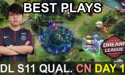 DreamLeague S11 Major BEST PLAYS Qualifier China Day 1 Highlights Dota 2 Time 2 Dota #dota2