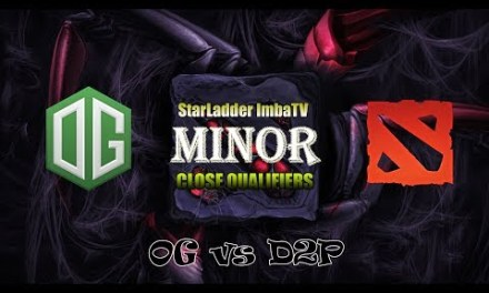 OG vs D2P Game 2 Bo2 | Group Stage SLI MINOR QUALIFER