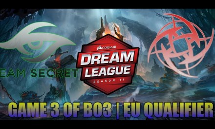 Secret vs NiP | G3 Bo3 Winners' Match Group Stage Dreamleague 11 EU Qualifiers