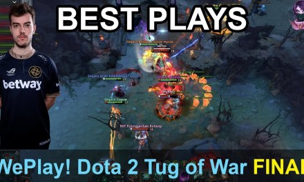 WePlay! Dota 2 Tug of War: Radiant BEST PLAYS SUPER FINAL Highlights Dota 2 Time 2 Dota #dota2
