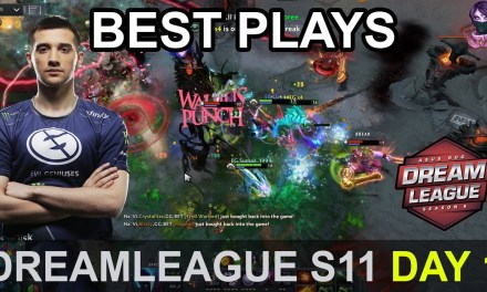 DreamLeague S11 Major BEST PLAYS Day 1 Highlights Dota 2 Time 2 Dota #dota2