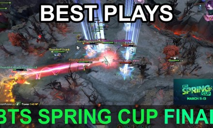 BTS Spring Cup BEST PLAYS FINAL DAY Highlights Dota 2 Time 2 Dota #dota2 #btscup