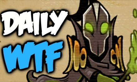 Dota 2 Daily WTF – No! Don't do it!