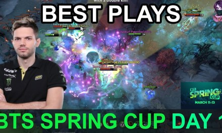 BTS Spring Cup BEST PLAYS DAY 1 Highlights Dota 2 Time 2 Dota #dota2 #btscup