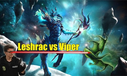 Miracle makes everything easier | Leshrac vs Viper | How did he become No.1?