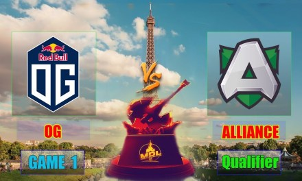 OG vs Alliance Game 1 Bo3 | Paris Major EU Qualifiers Lower Bracket R1