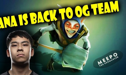 ANA play MEEPO + OG Team: TOPSON, NOTAIL, JERAX In Battle CUP EU