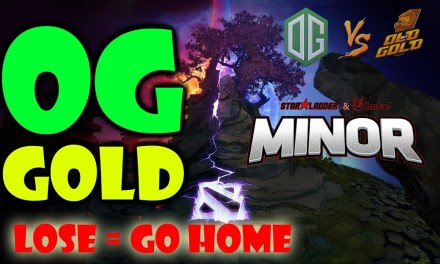 OG vs gOLD GAME 3 Bo3 | Decider Match StarLadder ImbaTV Dota 2 Minor