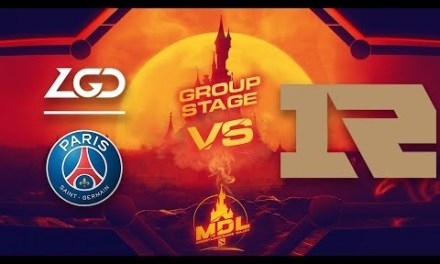 PSG.LGD vs RNG Game 1 – MDL Paris Major CN Qualifiers: Group Stage