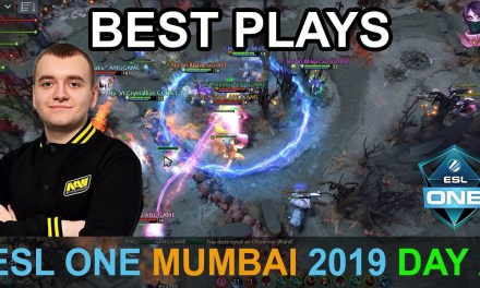 ESL One Mumbai 2019 BEST PLAYS Day 2 Highlights Dota 2 Time 2 Dota #dota2 #eslone