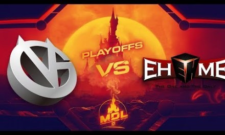 Vici Gaming vs EHOME Game 1 – MDL Paris Major CN Qualifiers: Losers' Round 1