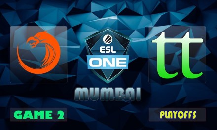 TNC vs TT Game 2 Bo3 Lower Bracket R2 | ESL One Mumbai 2019