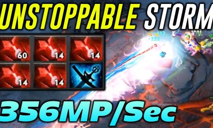 WAGA UNSTOPPABLE STORM 356 MP/sec – Dota 2 Highlights