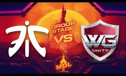 Fnatic vs WG.U Game 1 – MDL Paris Major SEA Qualifiers: Group Stage