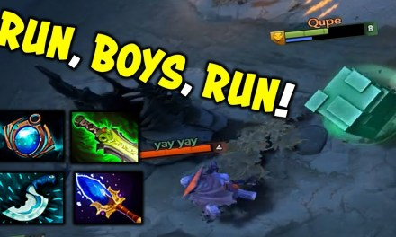 QUPE RUBICK Highlights [I can play not only Pudge!] Dota 2