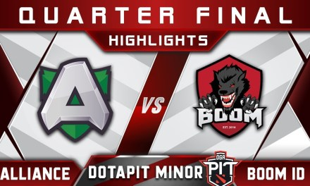 Alliance vs Boom ID Semi Final OGA Dota Pit Minor 2019 Highlights Dota 2