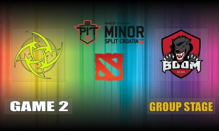 NIP vs BOOM ID Game2 Bo3 Group Stage | OGA Dota PIT Minor