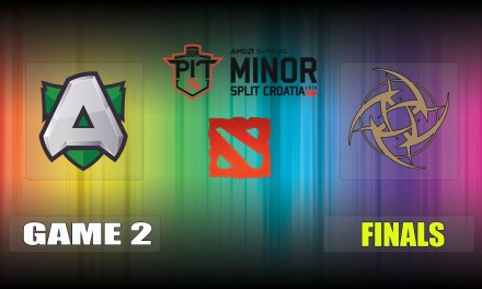 Alliance vs NiP Game 2 Bo3 Upper Finals | OGA Dota PIT Minor