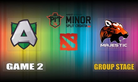 Alliance vs Majestic Game 2 Bo3 Group Stage | OGA Dota PIT Minor