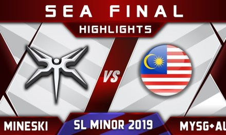 Mineski vs MYSG+AU SEA Final Starladder ImbaTV Minor 2019 Highlights Dota 2