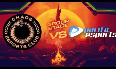 Chaos EC vs Pacific Game 2 – MDL Paris Major SA Qualifiers: Group Stage