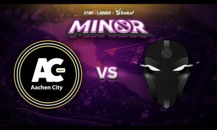 Aachen vs The Final Tribe Game 1 – SL ImbaTV Minor EU Qualifier: Losers' Round 1
