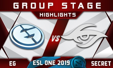 EG vs Secret ESL One Birmingham 2019 Highlights Dota 2