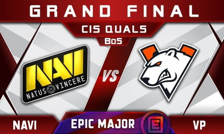 NaVi vs VP Grand Final CIS EPICENTER Major 2019 Highlights Dota 2