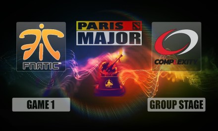 FNATIC vs COL Paris Major | Group Stage Bo3 Game 1