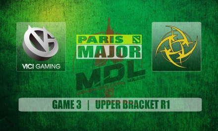 VG vs NIP Paris Major | Upper Bracket R1 Bo3 Game 3