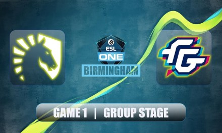 Liquid vs FWD | ESL One Birmingham | Group Stage Bo2 Game 1