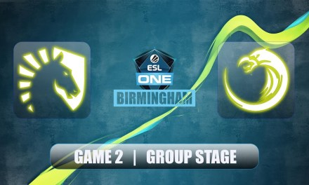 Liquid vs TNC | ESL One Birmingham | Group Stage Bo2 Game 2