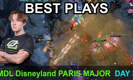 MDL Disneyland® Paris Major BEST PLAYS DAY 3 Highlights Dota 2 Time 2 Dota #dota2 #mdl