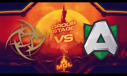 NiP vs Alliance Game 2 – MDL Paris Major EU Qualifiers: Group Stage