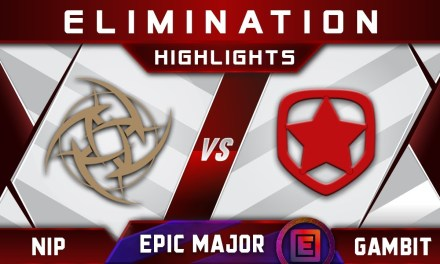 NiP vs Gambit Elimination EPICENTER Major 2019 Highlights Dota 2