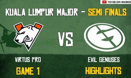 [Highlights] Virtus Pro vs Evil Geniuses | GAME 1 – Semi Finals | Kuala Lumpur Major | Amazing Dota
