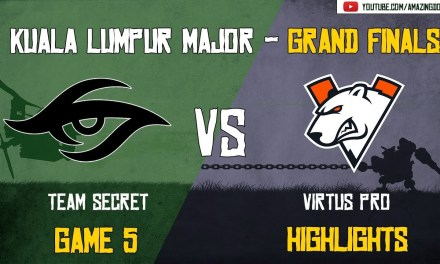 [Highlights] Team Secret vs Virtus Pro | GAME 5 – Grand Finals – BO5 | The Kuala Lumpur Major