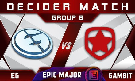 EG vs Gambit Decider EPICENTER Major 2019 Highlights Dota 2