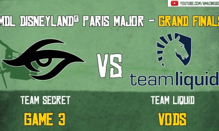 [VODs] Secret vs Team Liquid | Grand Finals – Game 3 | MDL Disneyland® Paris Major | Amazing Dota