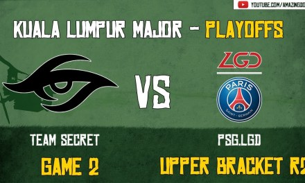 [Highlights] Team Secret vs PSG.LGD | GAME 2 | The Kuala Lumpur Major | Playoffs – Upper Bracket R2